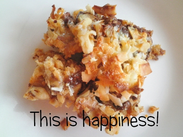 Happy Cookie Bars