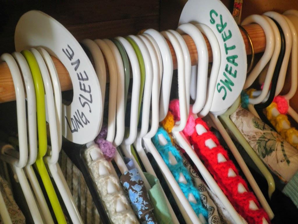 DIY Closet Organizer Tags