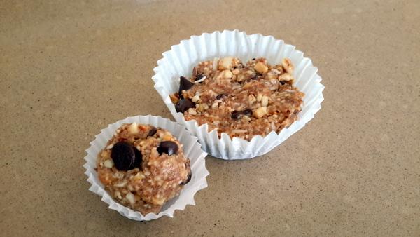 Grain Free Nut Bars cups