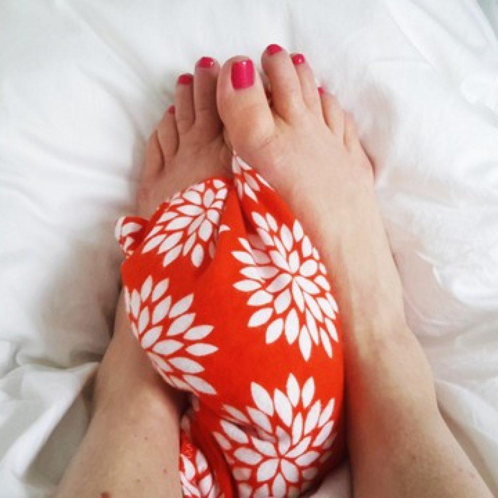 foot warmer tutorial