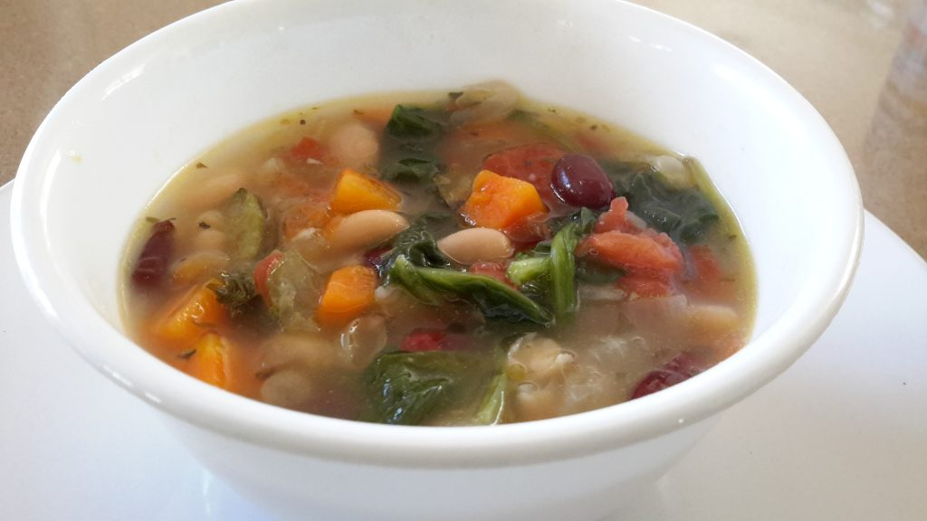 Olive garden 39 s minestrone soup instant pot you make it - Minestrone soup olive garden recipe ...