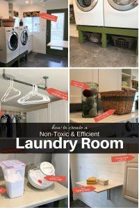non-toxic laundry room