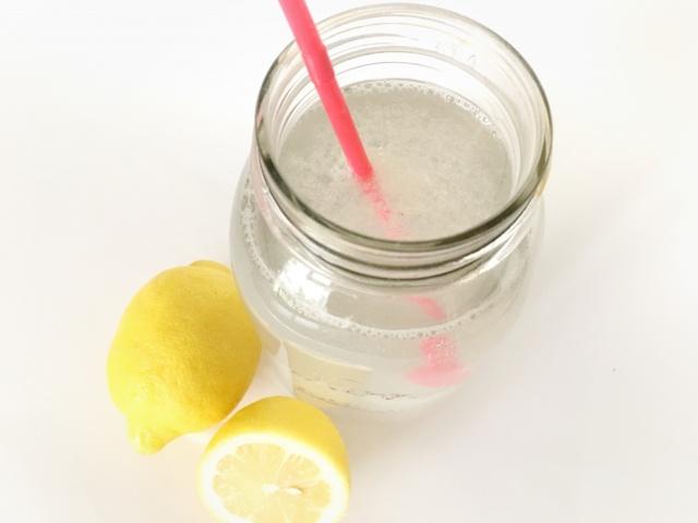 lemon water food savers