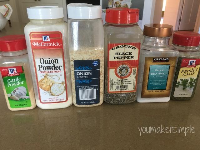 ranch dressing ingredients