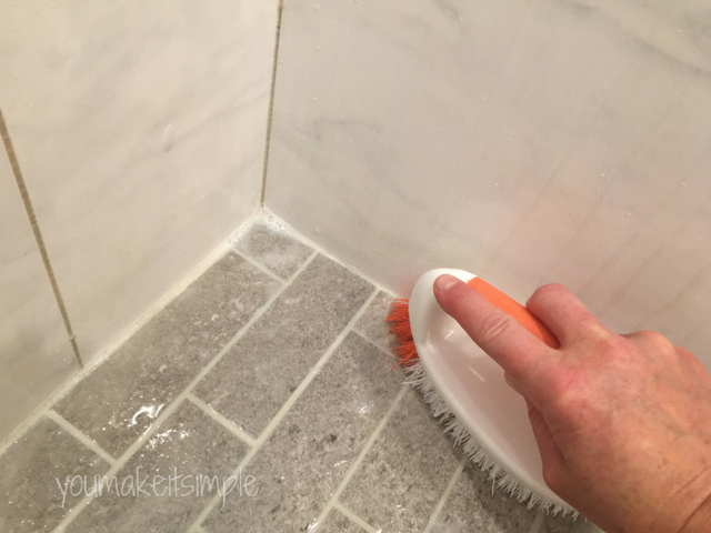 Cleaning Tile & Grout the easy way - youmakeitsimple.com