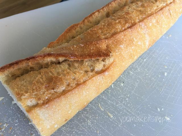 baguette bruschetta youmakeitsimple.com