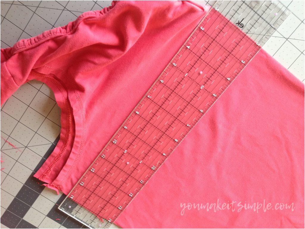 repurposed t shirts cutter