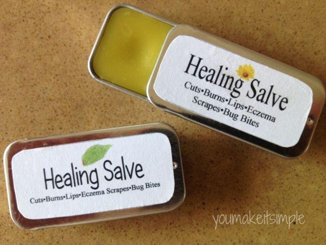 healing salve youmakeitsimple.com