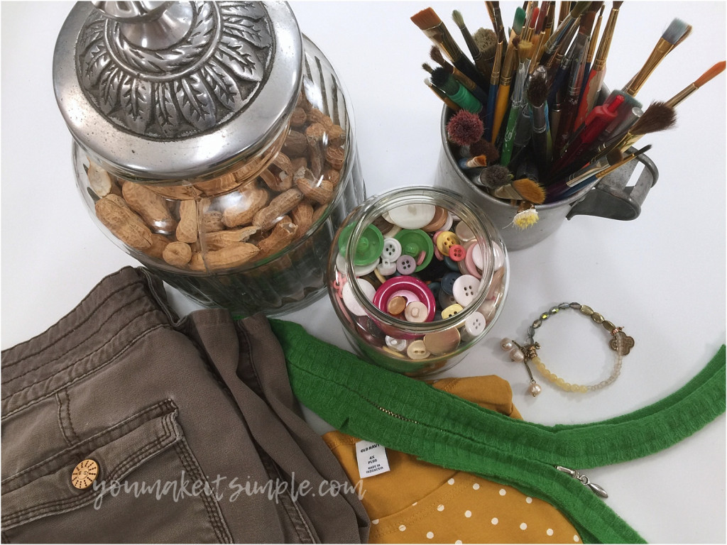 upcycled love thrift store items