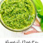 basil pesto youmakeitsimple.com