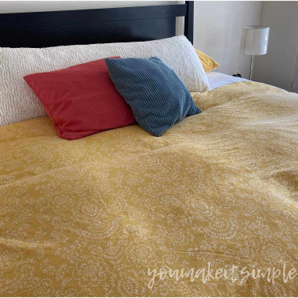 How to change a duvet cover the easy way