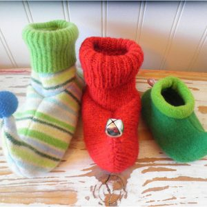 Infant and Child Elf Slippers