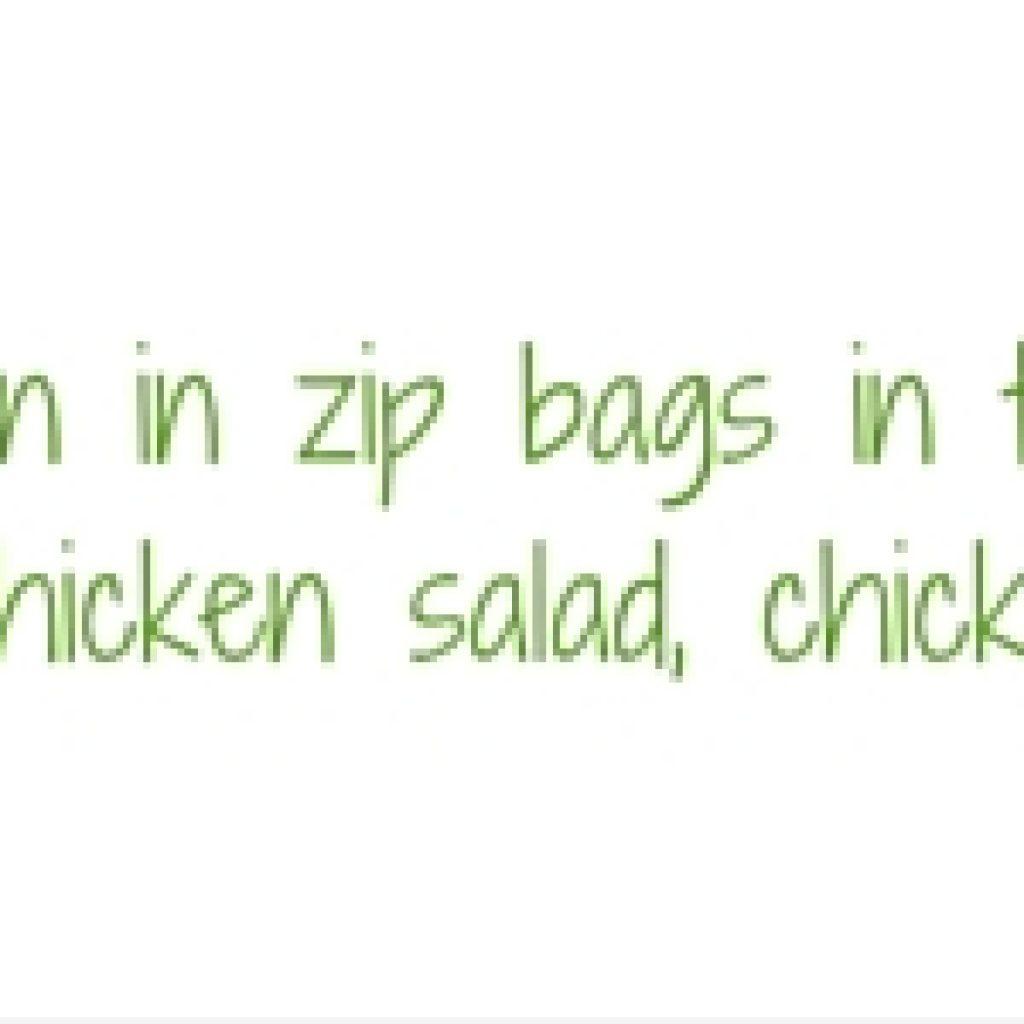 shredded chicken tip