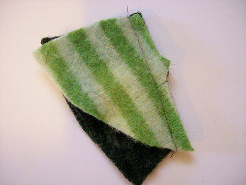 Upcycled Sweater Hearts
