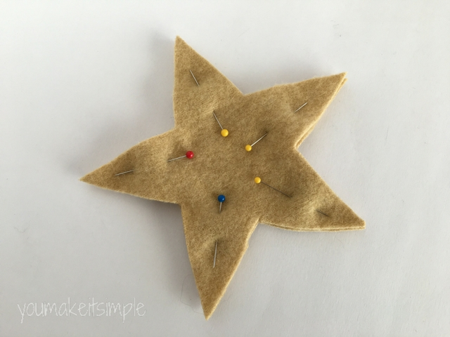 Upcycled Sweater Stars