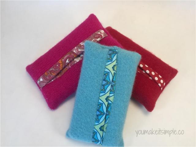 travel tissue pouch