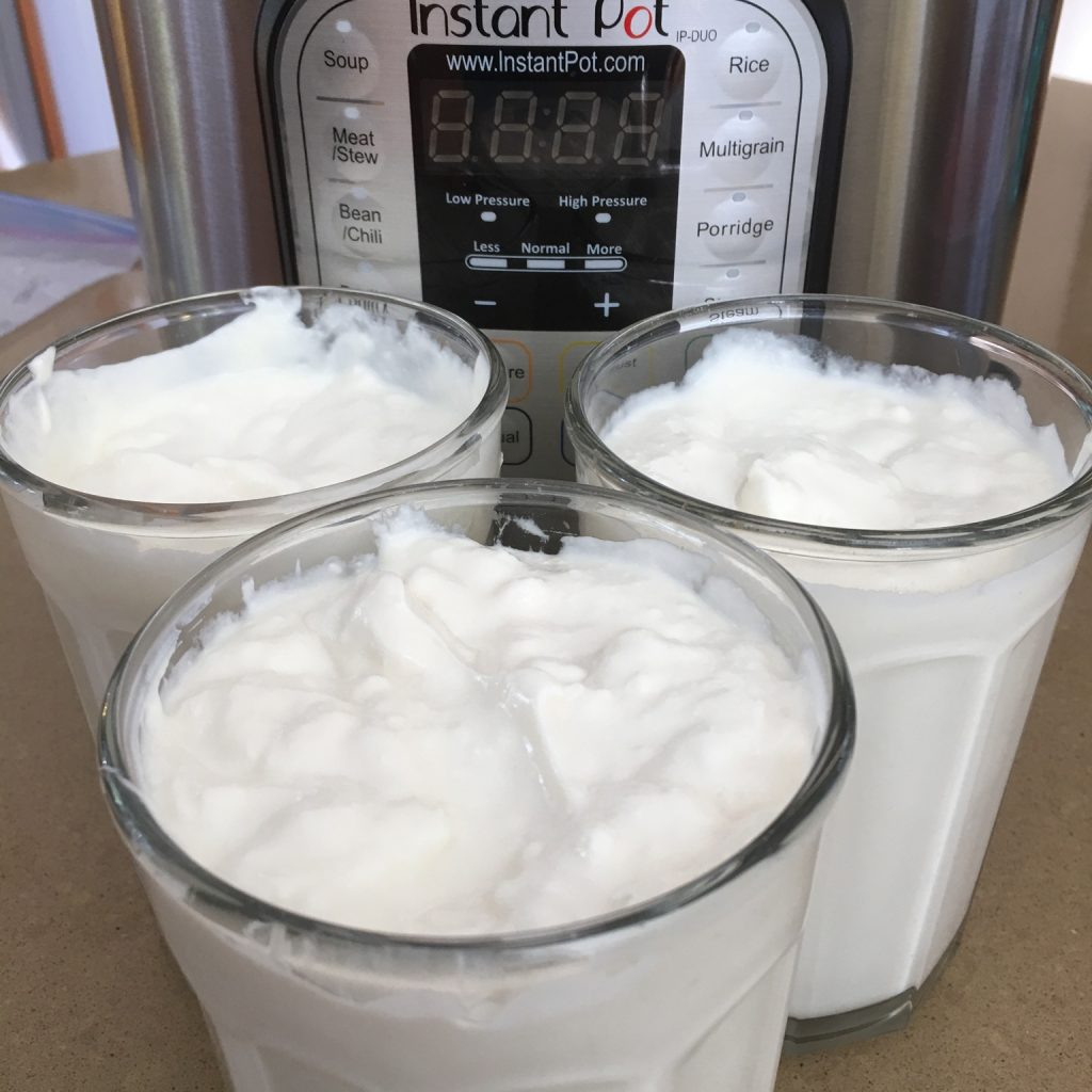 Instant pot Greek yogurt youmakeitsimple.com