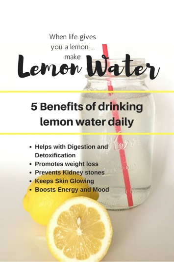 Morning Lemon Water
