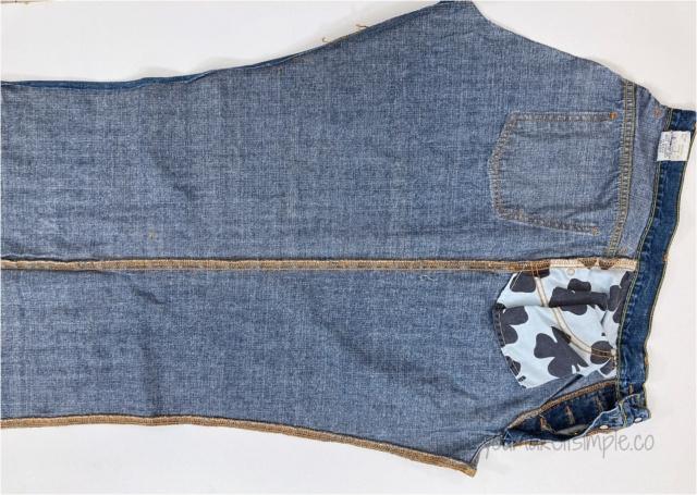 Upcycled Denim Jeans