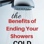 benefits of ending your shower cold