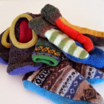 Caring for your upcycled wool sweater projects