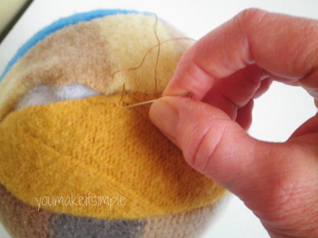 Free Fabric Ball Pattern