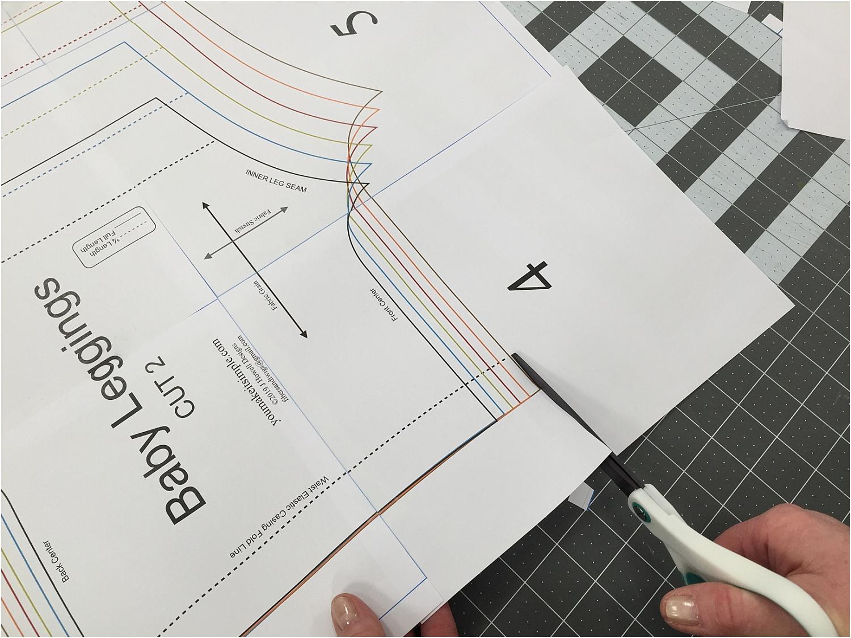 PDF sewing patterns cutting out