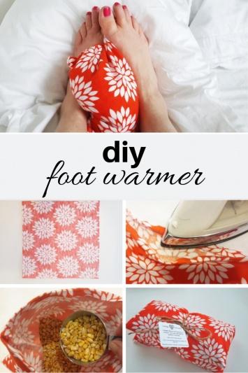 DIY Foot Warmer Tutorial