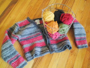 How to felt wool sweaters