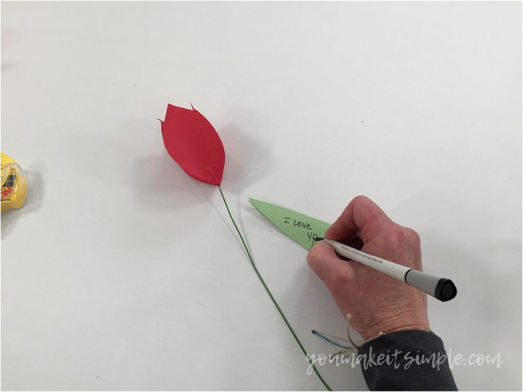 PAPER TULIPS NOTE