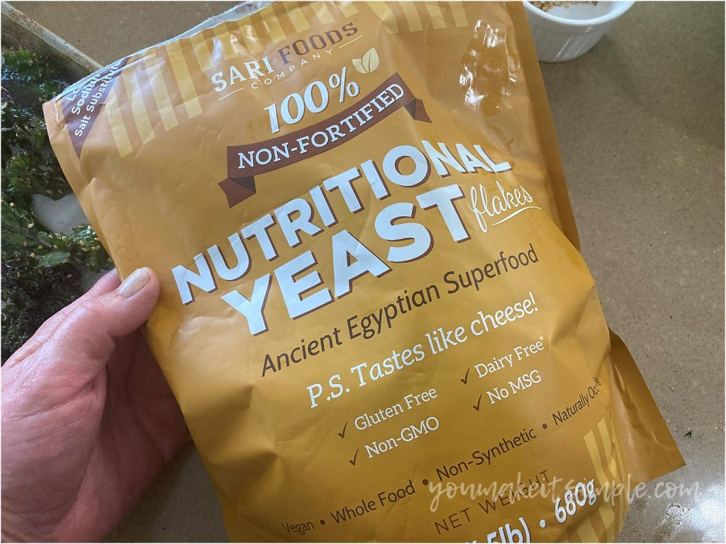 nutritional yeast kale chips