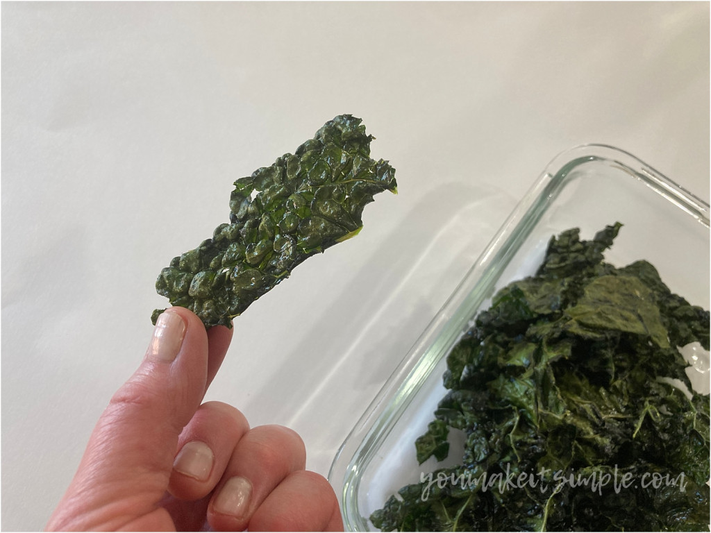 Kale Chips youmakeitsimple.com