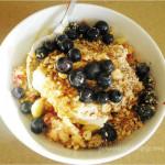 muesli breakfast bowl
