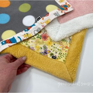 Sewing With Plush Fabric