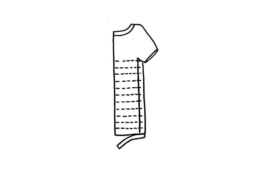 t-shirt yarn cutting strips