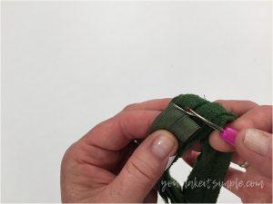 Zipper upcycling unpicking