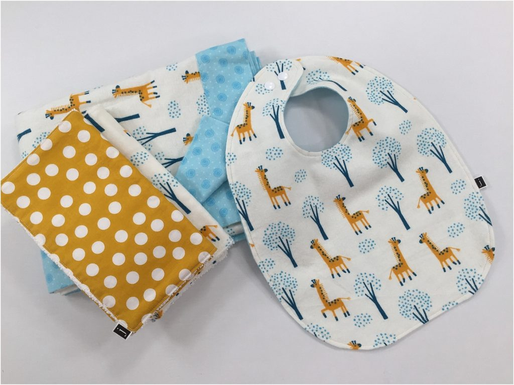 baby bib shower gift idea