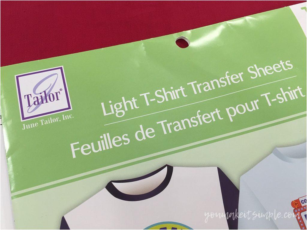 heat transfer paper light