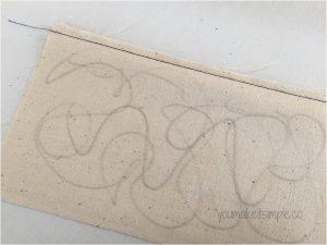 French seam 1/4 inch seam