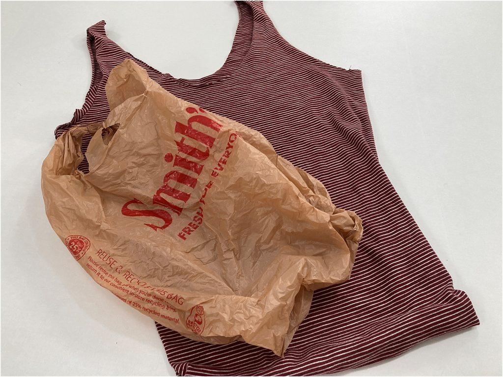 t-shirt bag sewing method