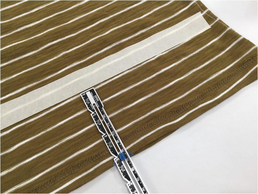 t-shirt bags taping