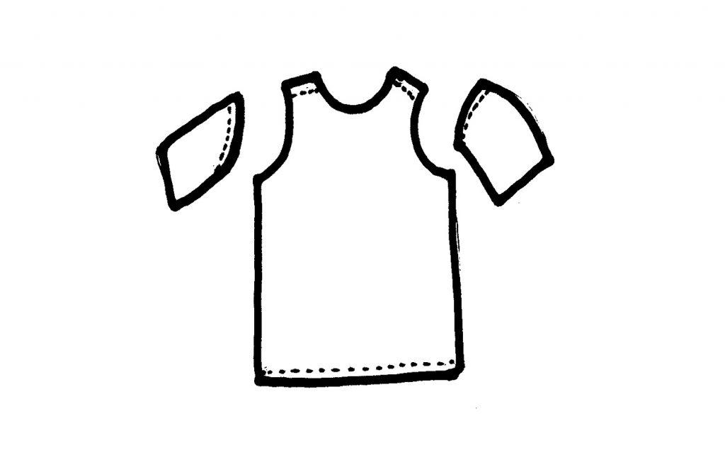 t-shirt bags cut sleeves