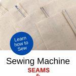 sewing machine seams and seam allowances youmakeitsimple.com