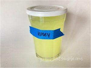 instant pot yogurt whey