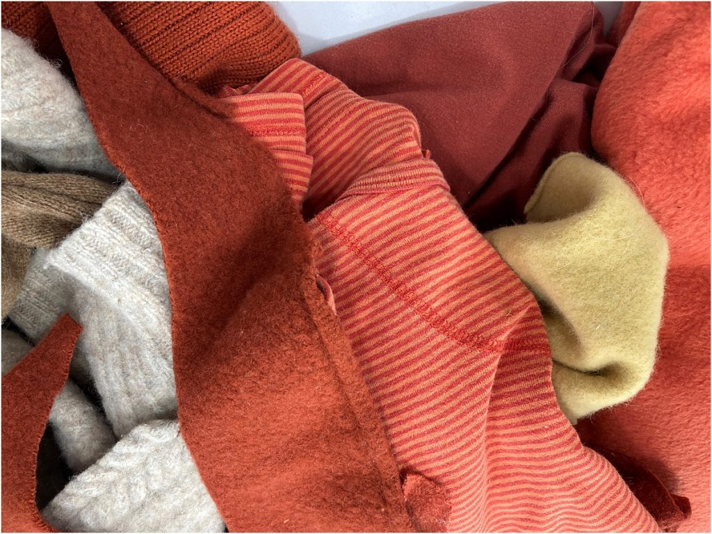 diy sweater pumpkins upcycled clothing