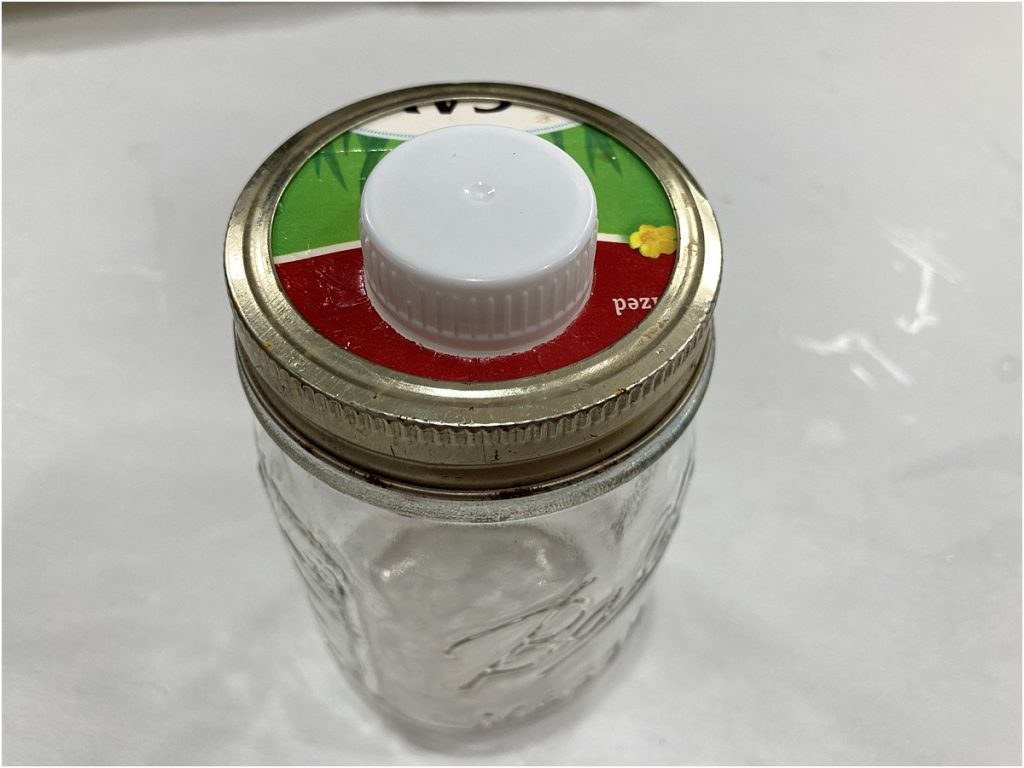 Recycled Milk Carton Spout Snack and Beverage Holder