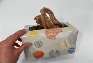plastic shopping bag dispenser