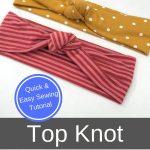 diy top knot pin 2