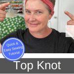 top knot pin