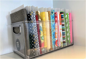 organize your fabric cover